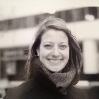 Caitlin McNamara, our graphic designer, in Chicago, Ill.
