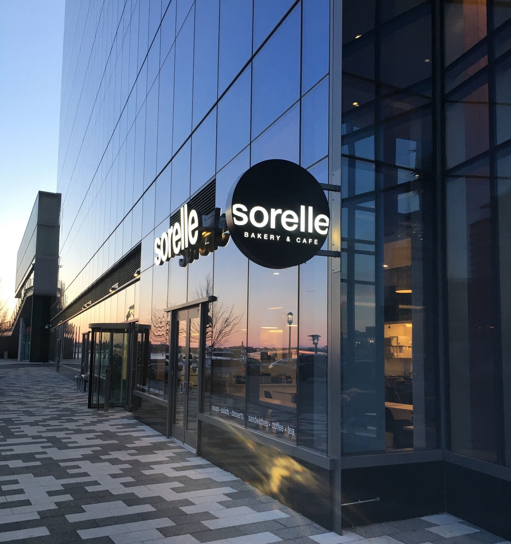 Sorelle Signage for New Seaport Store