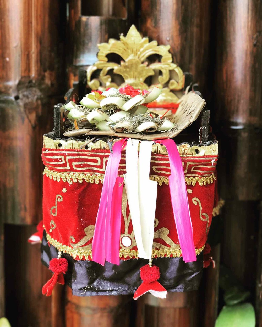 Copy of Offerings at our Retreat Villa ~ 300 Hour Tantra Yoga Teacher Training in Bali