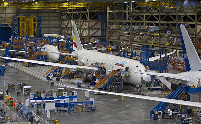 Boeing Assembly Plant