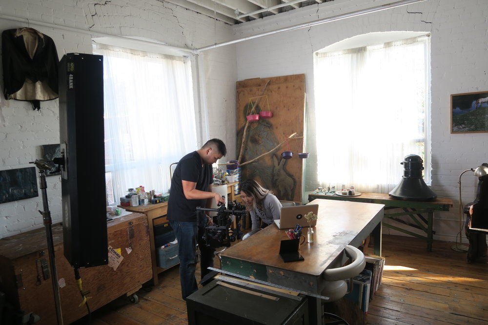 Toronto Artist Loft Event and Production Rental