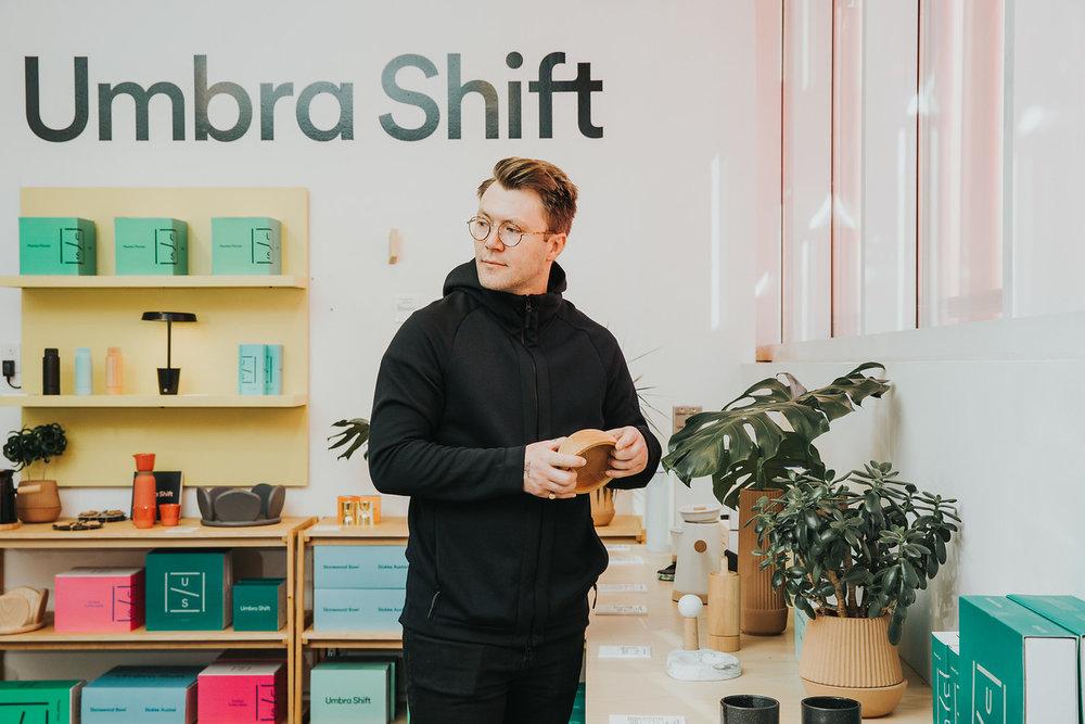 Jordan Darbishire Umbras Manager of Brand Design