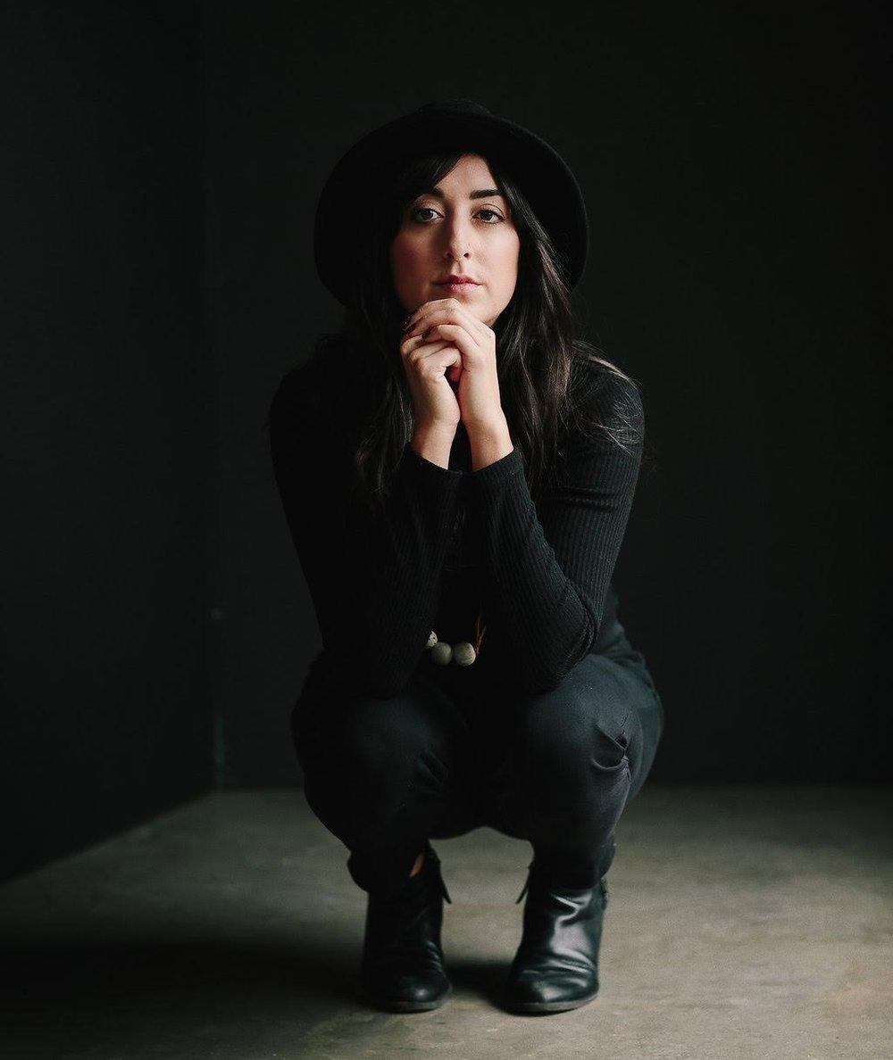 Photographer Alexa Mazzarelloas captured by Rachel Pick