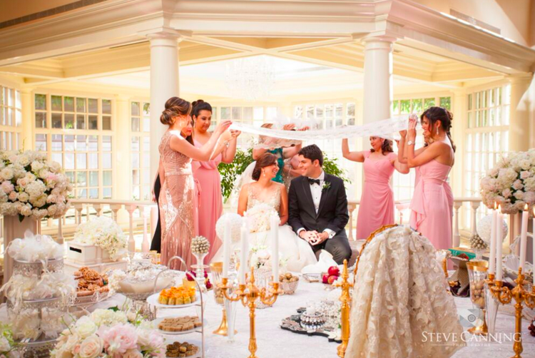 During The Sugar Ceremony Couple Will Be Seated And Women Are Called Forth To Spread A Cloth Of Unity Over Their Heads Sometimes Two Hold