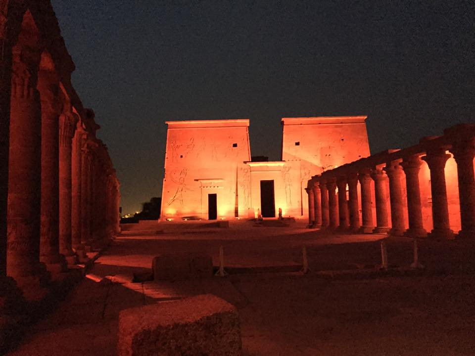Philae Temple Private Tour for Persian-Egyptian Wedding Celebration