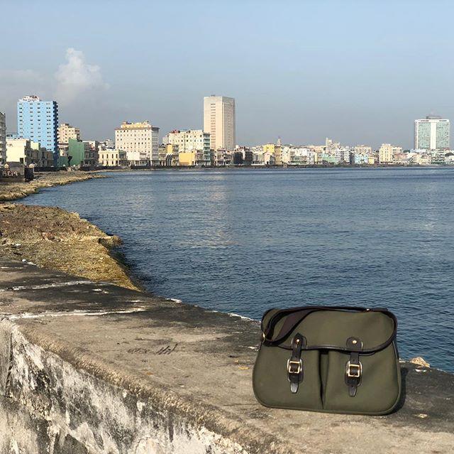 Where will you take your Brady bag?  #brnostore #bradybagsusa #bradybag #bradybags #arieltrout #mybradybag #havana #habana #cuba #maleconhabana #travellust #traveltheworld