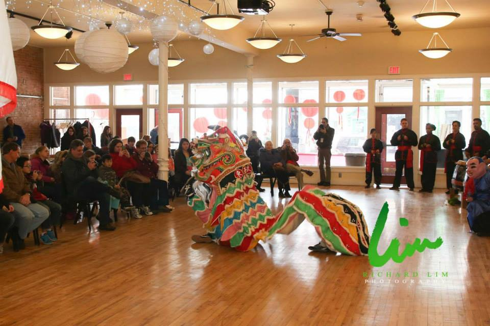 Traditional Lion Dance at Howell's Lunar New Year Festival photo courtesy of: Richard lim Photography