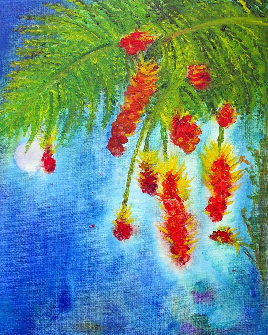 Acrylic on canvas, 20 x 16