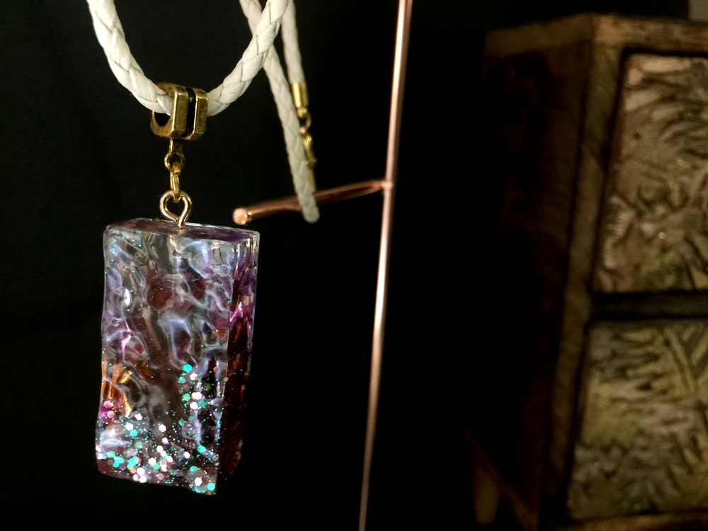 Resin Art Jewelry by Sally Chan