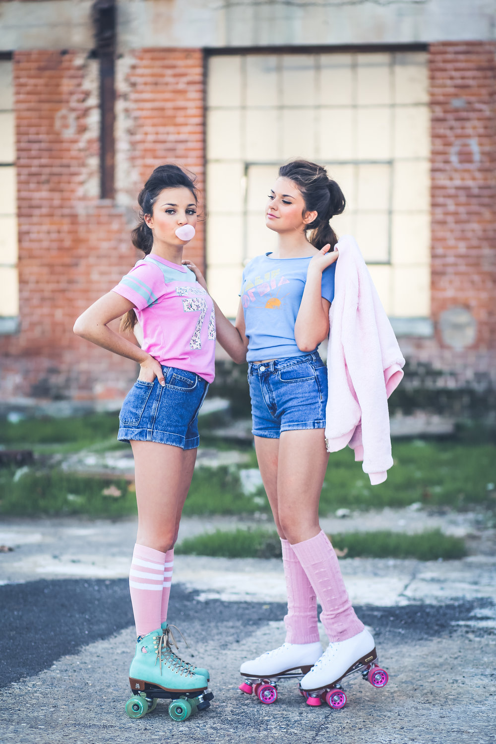 Roller skating babies - Some Of My Favorite Images From This Rad 80 S Inspired Shoot