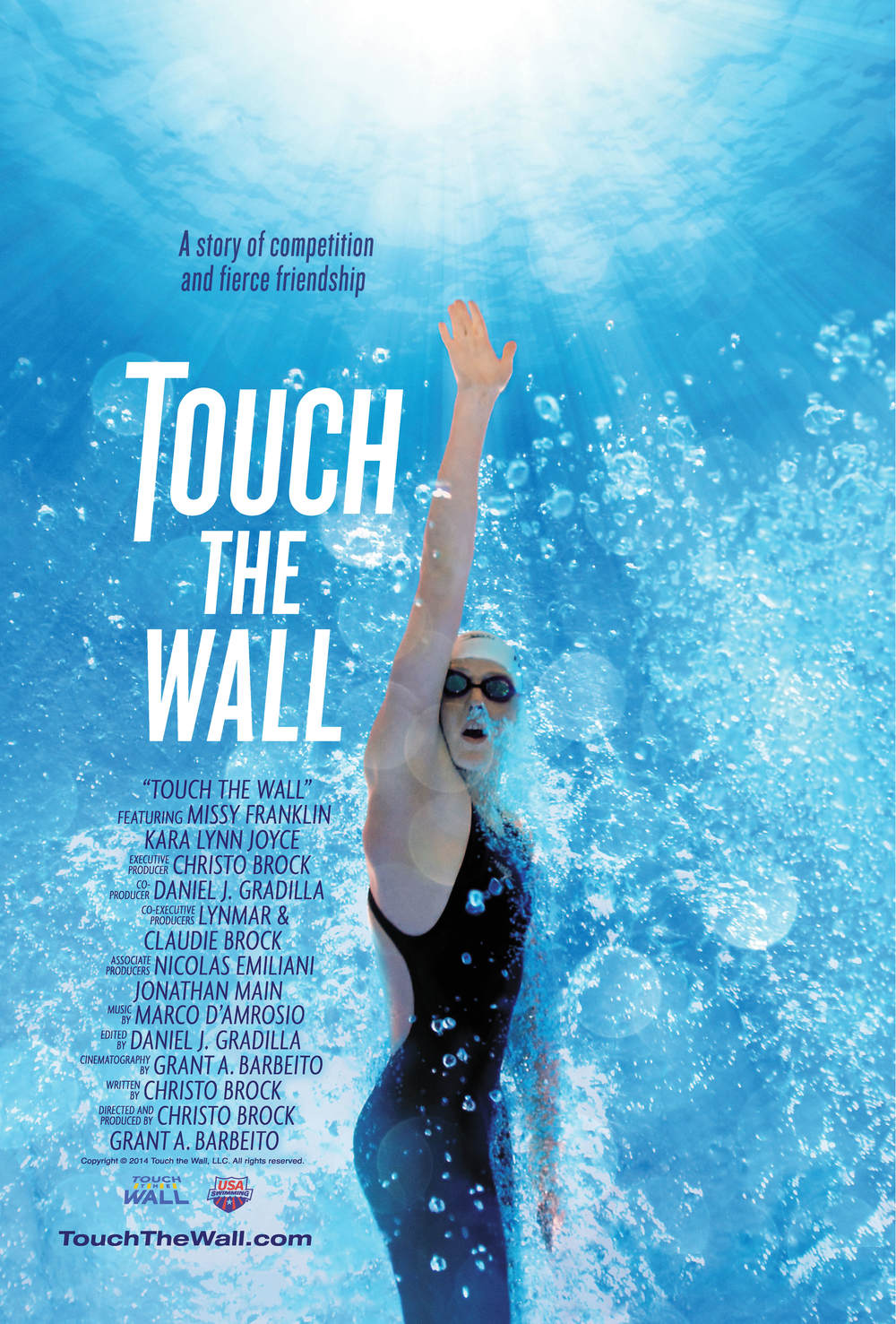 Official Theatrical Release Movie Poster (Full Size) — Touch The Wall