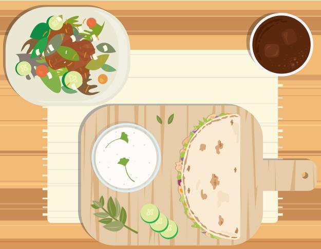 USA- Panera's flatbread sandwich