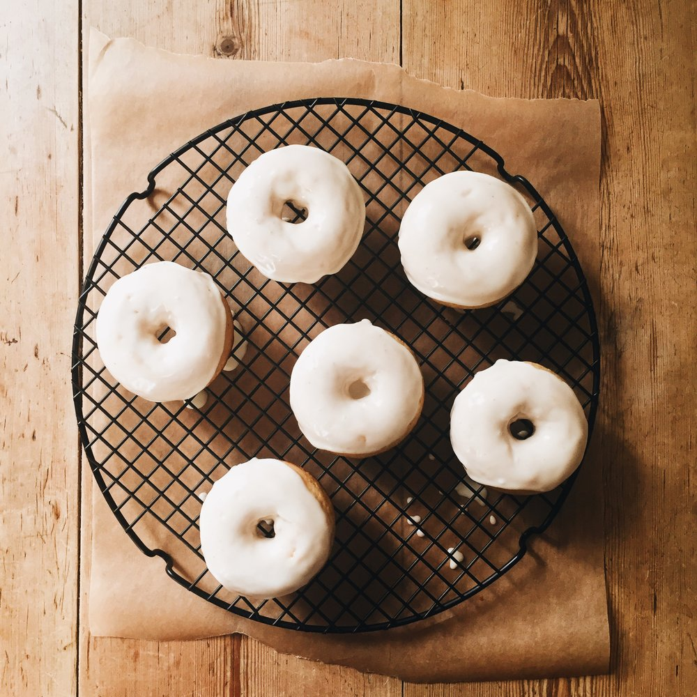 Egg Nog Donuts