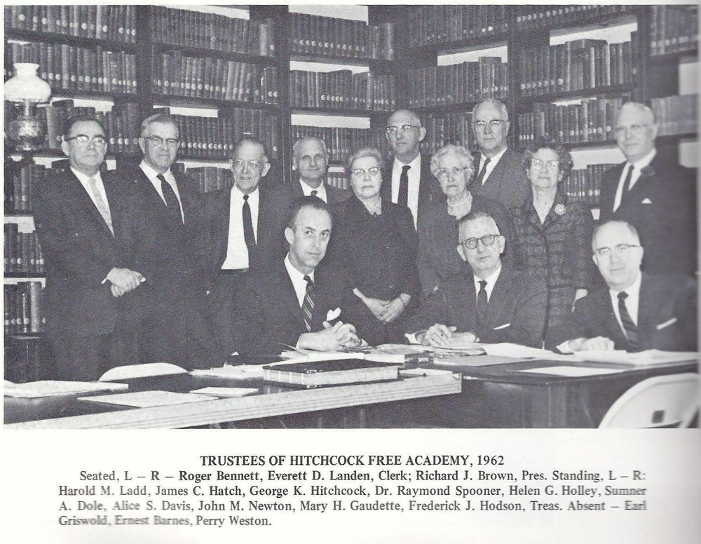 1962 Board of Trustees
