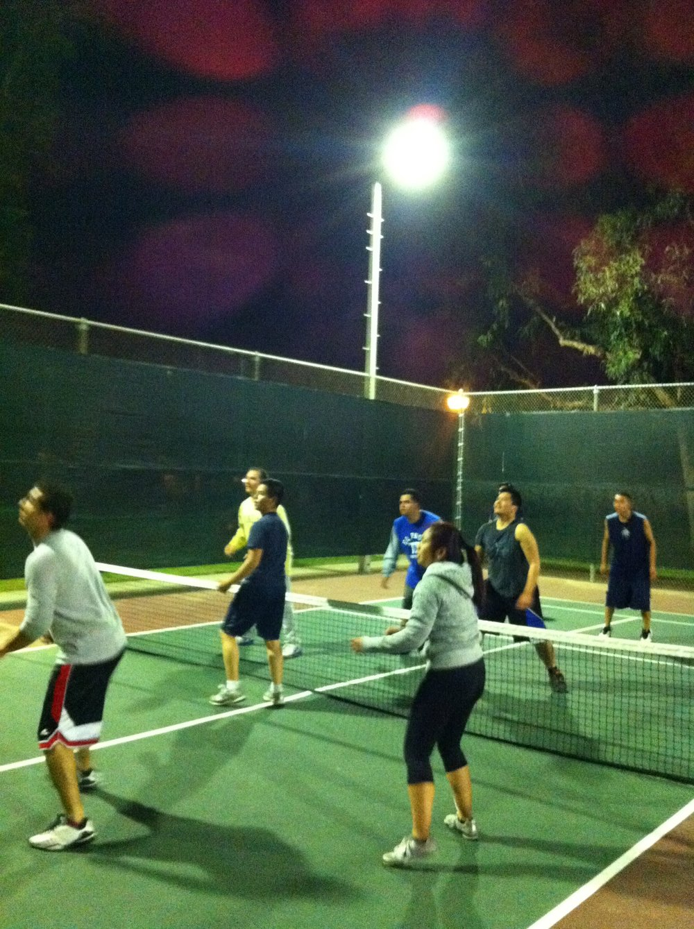 TMG invented the best Fit Night sport: Wacky Ball!