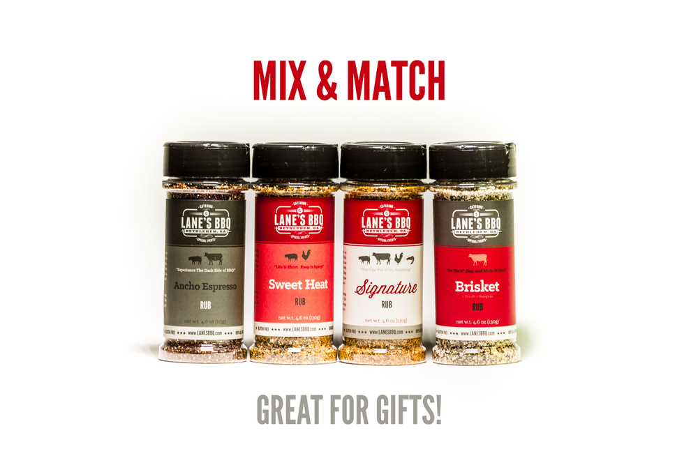 Mix & Match is now available for our Gift Set!  A great Father's Day gift.  Click Here To Order.