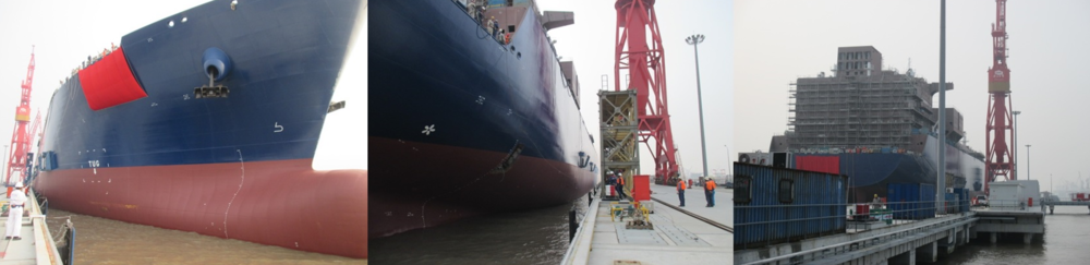 Launching of H1717A -CX Line 0 No5 Quay
