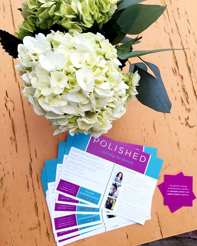 So excited and ready for @polishedftworth kick-off event!