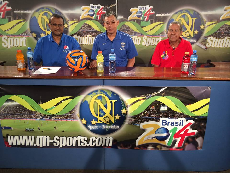 Glenn Van Straatum and  Wensley Bundel on QN Sports (On Air Aug 24)