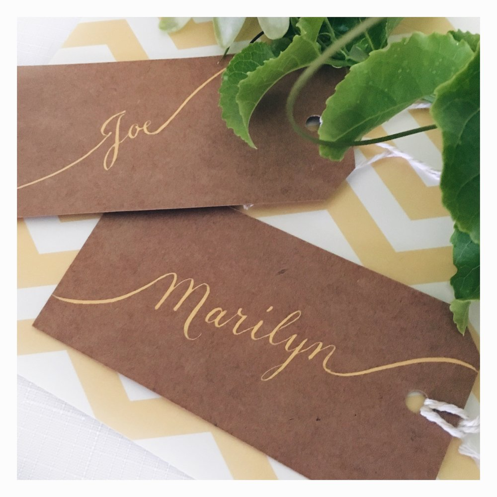Michelle & Anthony: Guest Name Tags