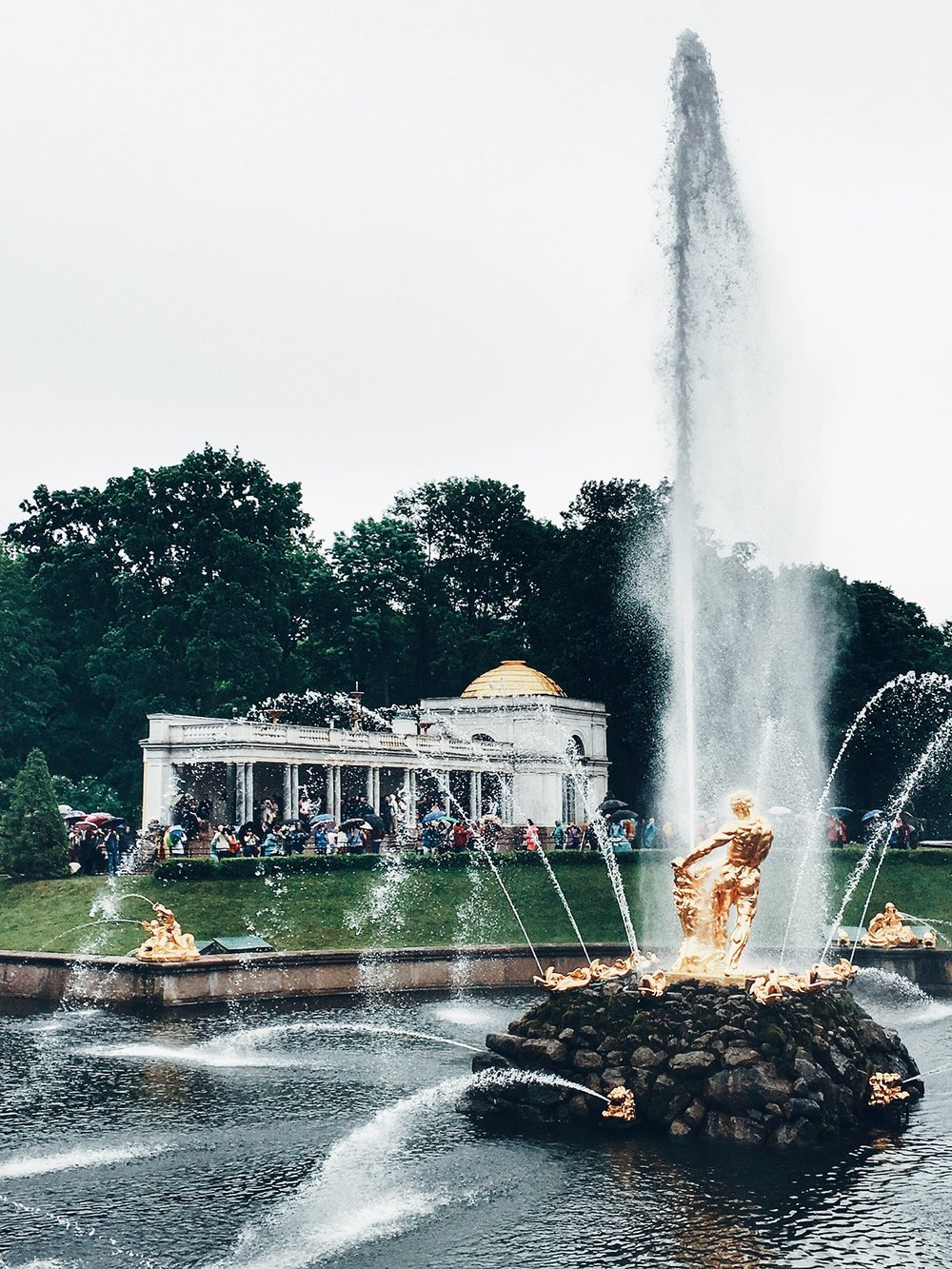 The Samson Fountain, Grand Cascade (St. Petersburg, Russia)