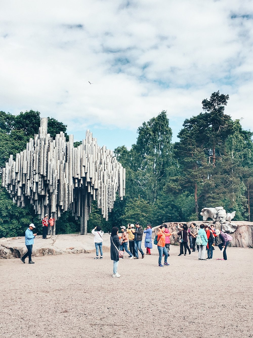 The Sibelius Monument (Helsinki, Finland)