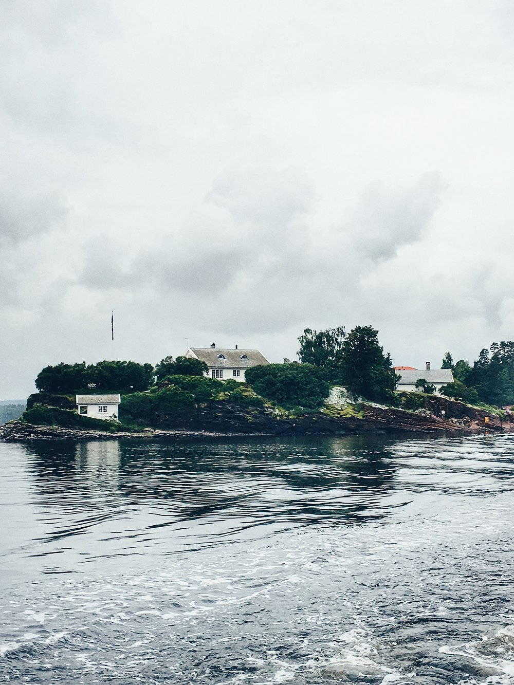 A privately owned island in the Oslo Fjords (Oslo, Norway)