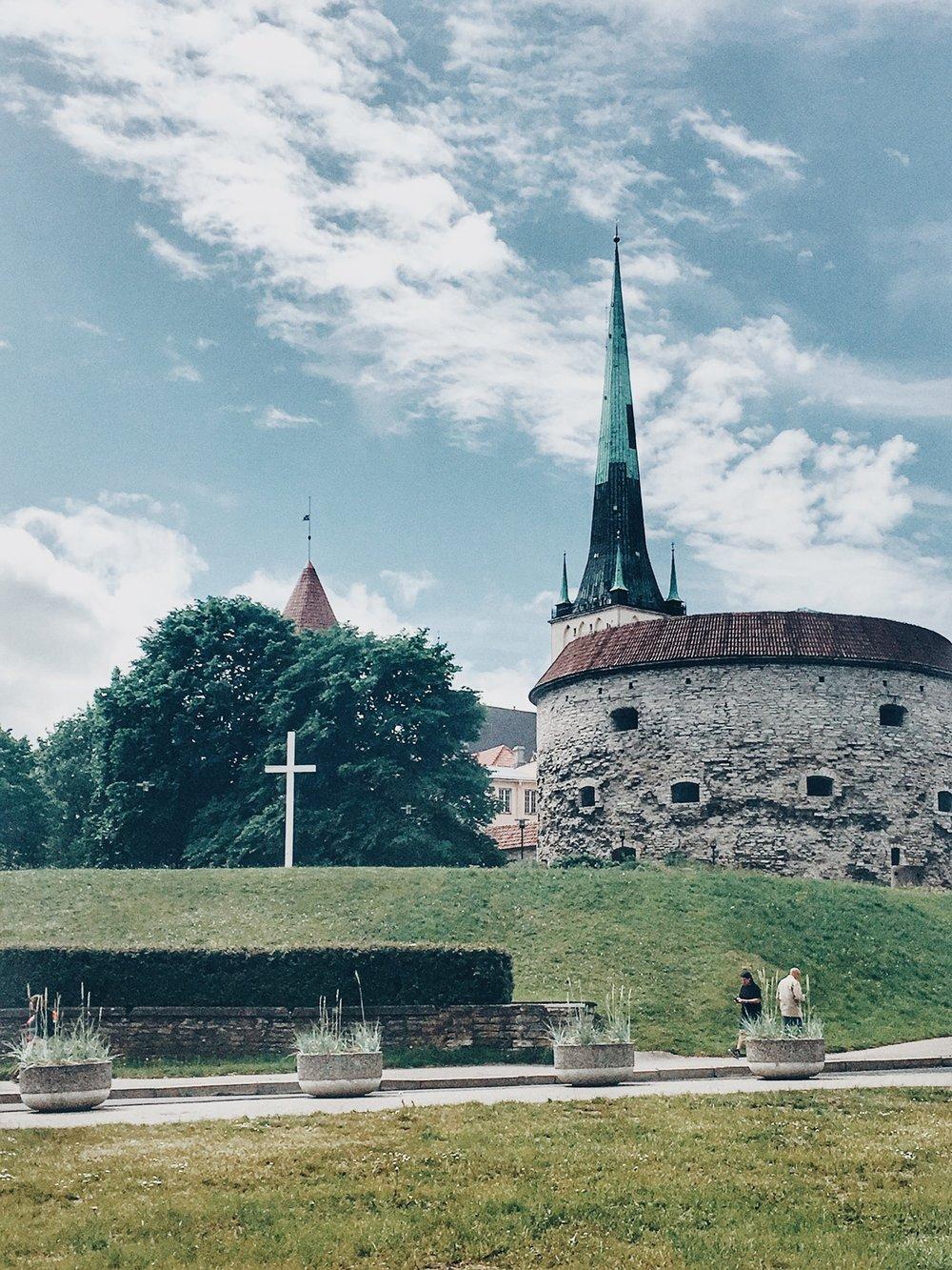 Old Town City Gate (Tallinn, Estonia)