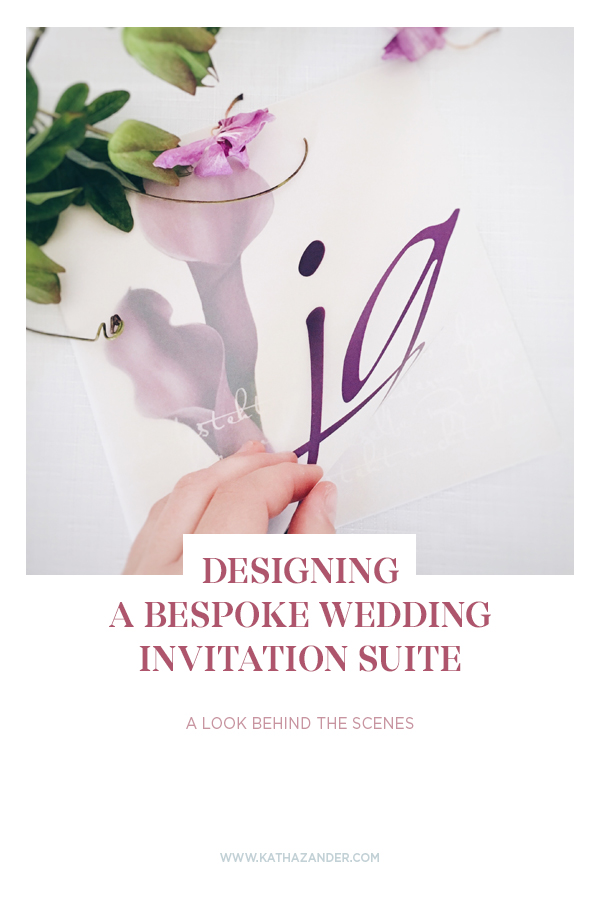 DESIGNING A BESPOKE WEDDING INVITATION SUITE: A LOOK BEHIND THE SCENES