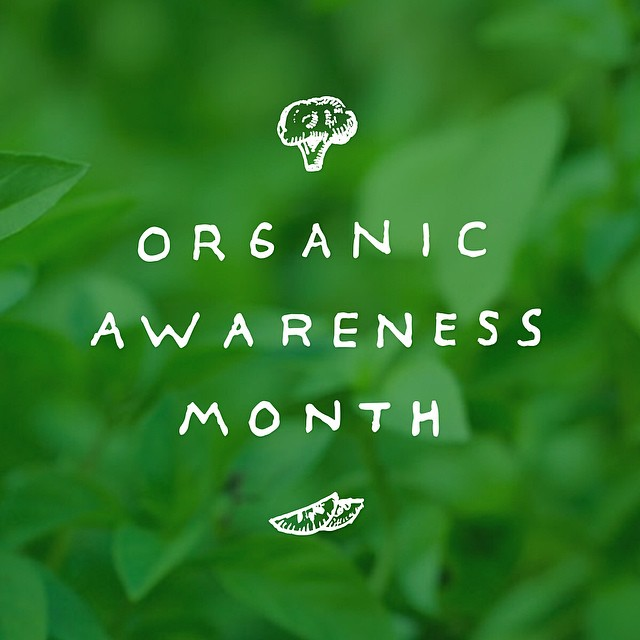 Day 1: October is Organic Awareness Month, join us as we bring you 30 days of organic food tips, hints, movies, chefs, recipes and more... Let the adventure begin!