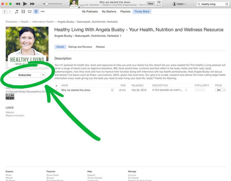 step3_subscribetohealthylivingwithangelabusbypodcast