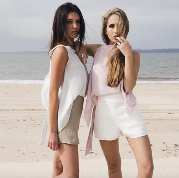 Kimberley Brooks  is an exciting new label dedicated to the young and light hearted. Resort wear that can be translated from the beach to night wear, are garments all locally sourced and manufactured in Australia.