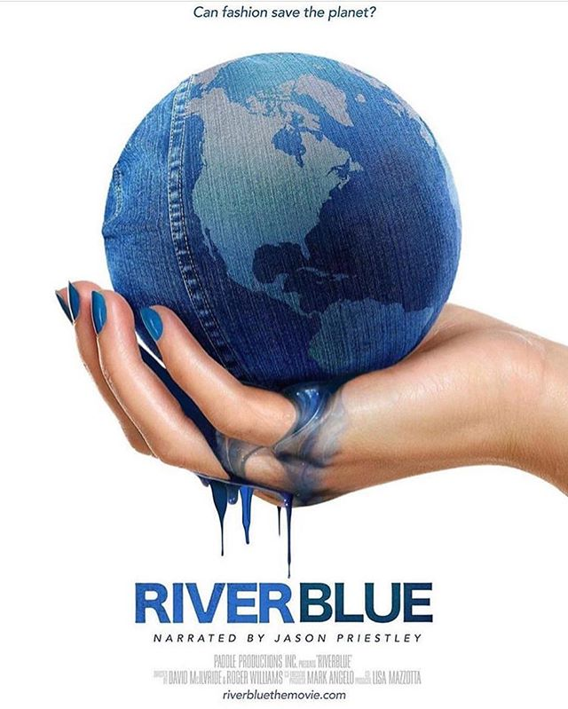 DID YOU KNOW// River Blue premiers this week! In partnership with @oxfamaustralia New Farm Cinemas will screen River Blue, with an intro from our @eddahamar 😉In the diary Aug 2nd!  #sustainablefashion #riverblue #cleanwater #doco #brisbane #sustainablefashion