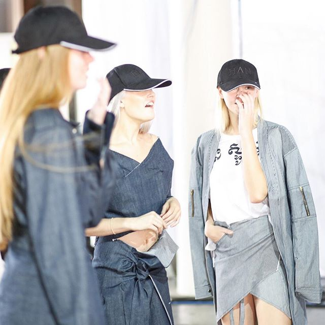 BEHIND THE SCENES// Girl gang @han_studios #streetwear #girlgang #runway #ethicalfashion #sustainablefashion #australianfashion