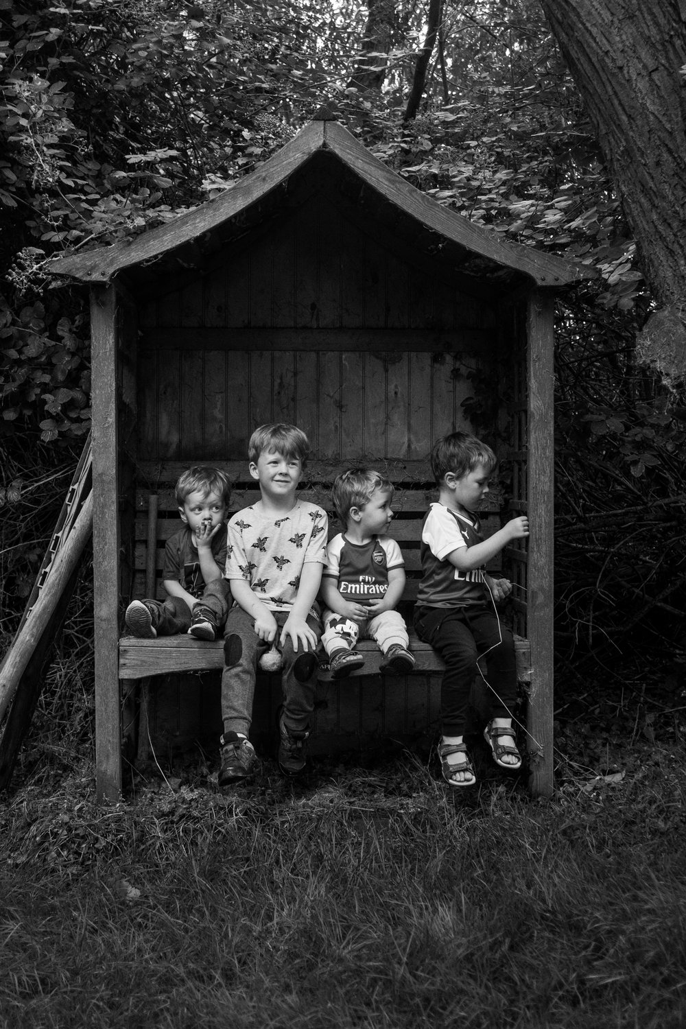The boys. Shot on the Fujifilm X-E1 with post in Lightroom Classic