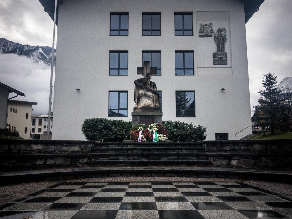 The War Memorial in Mayrhofen