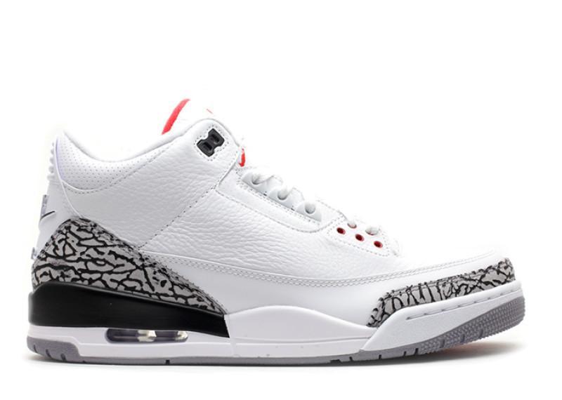 Air Jordan III White Cement