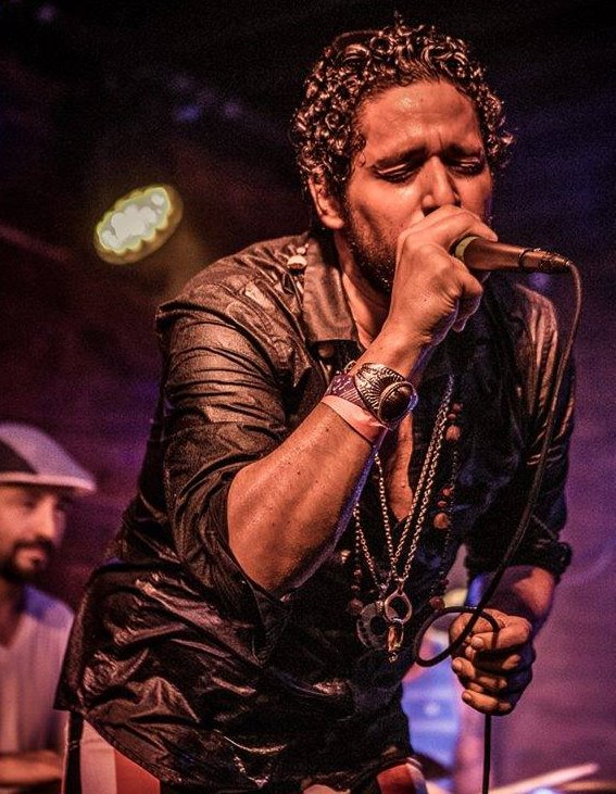 Bathed in bronze sweat: Fusing the Funk and Samba vibrations with the Macaxeira Funk crew @ the Viva Brazil Series. Photo courtesy of Mario Villeda Photography.