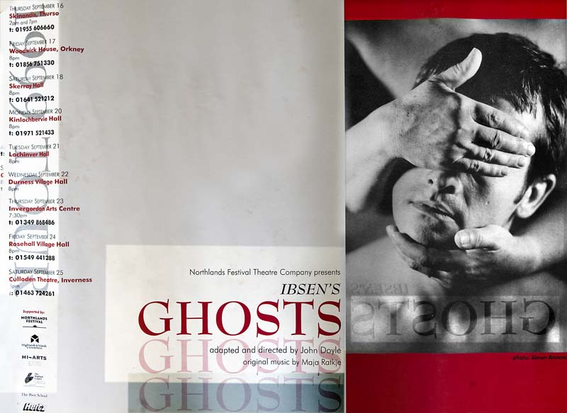 Ghosts, Northlands Festival Theatre Company 1999