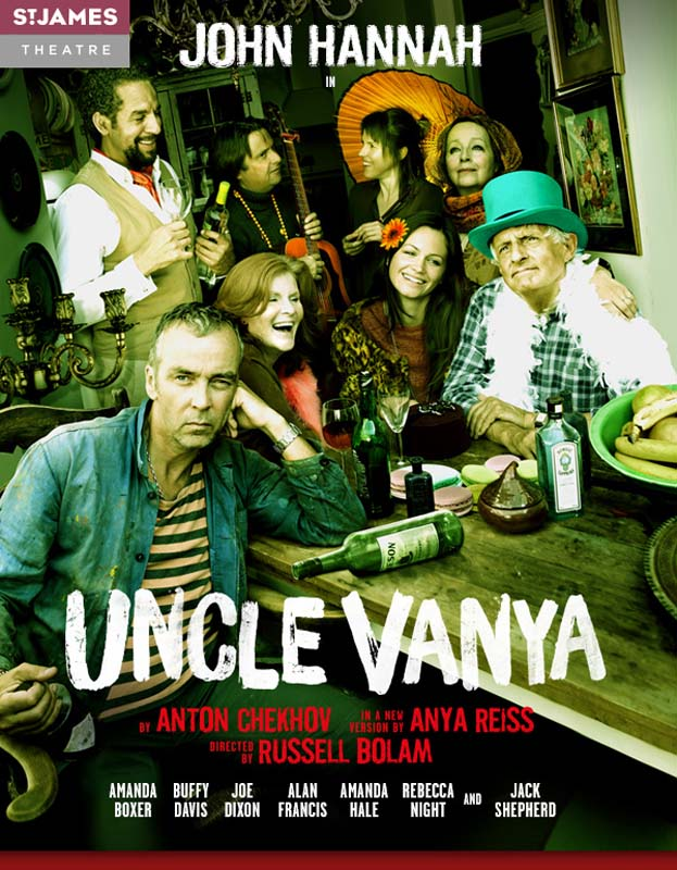 Uncle Vanya, St James Theatre, 2014