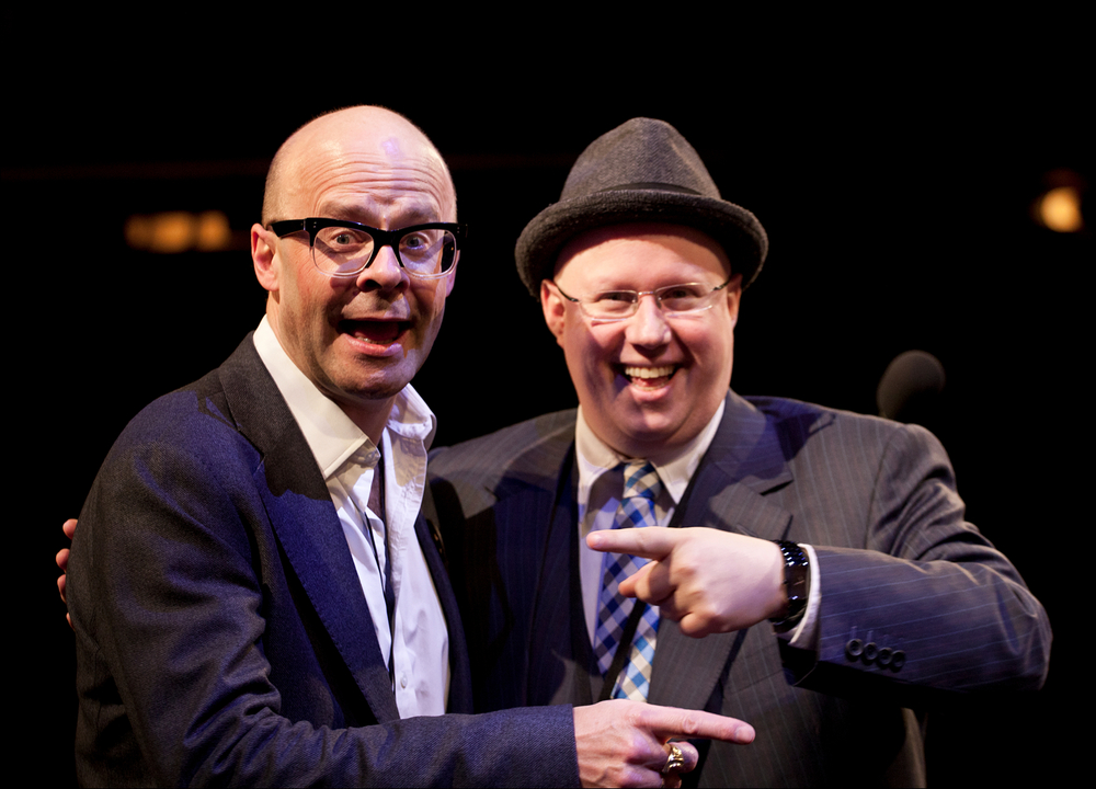 Harry Hill and Matt Lucas