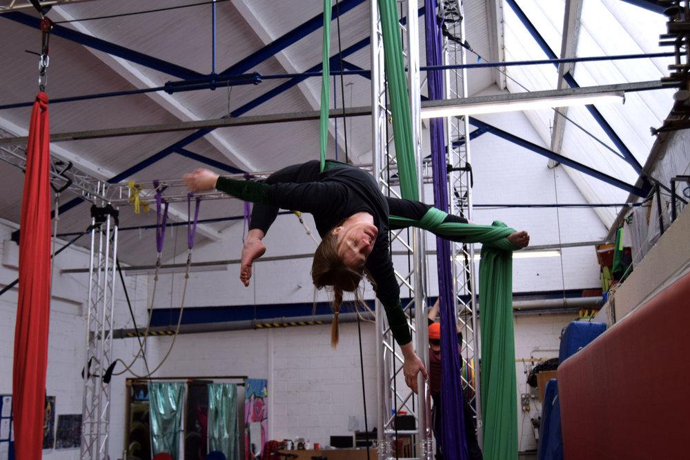 Aerial Silks Teacher