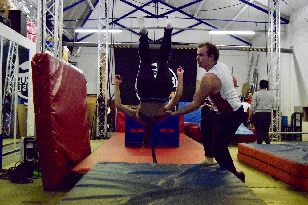 Copy of Copy of Tumbling Acrobatics Course