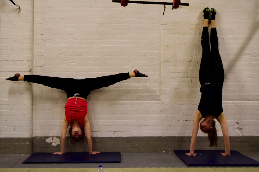 Copy of Copy of Hand Stand and Splits Training
