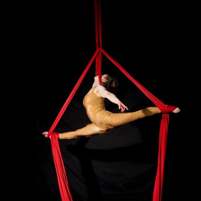 Tanya - Aerial Silks - Circus