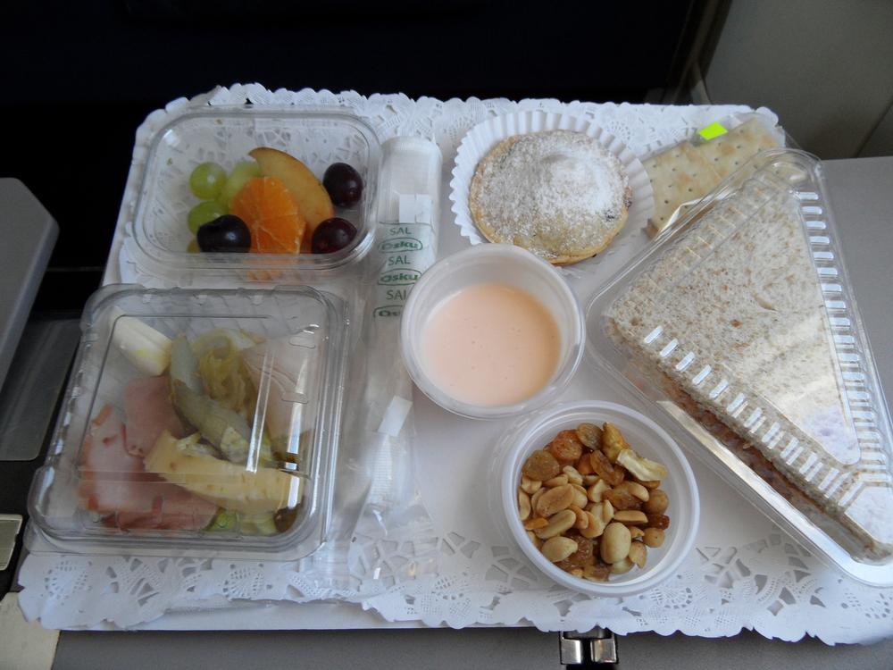 Antarctica Airways meal