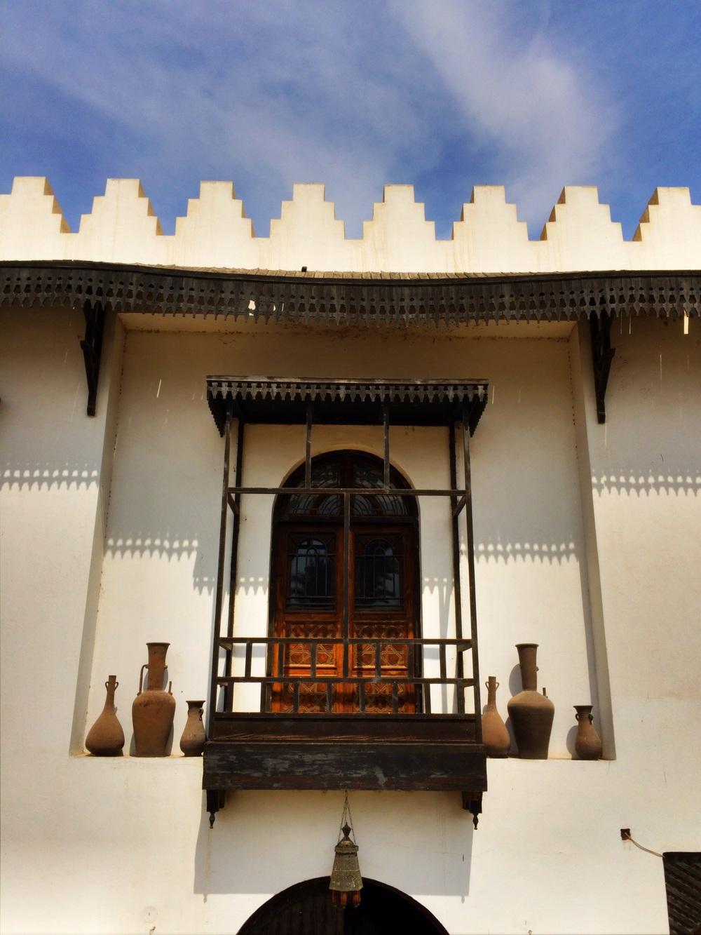 Another beautiful veranda in Cairo