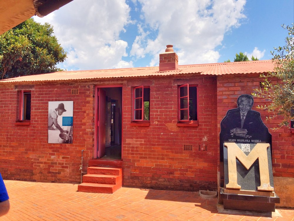 Nelson Mandela's childhood home.