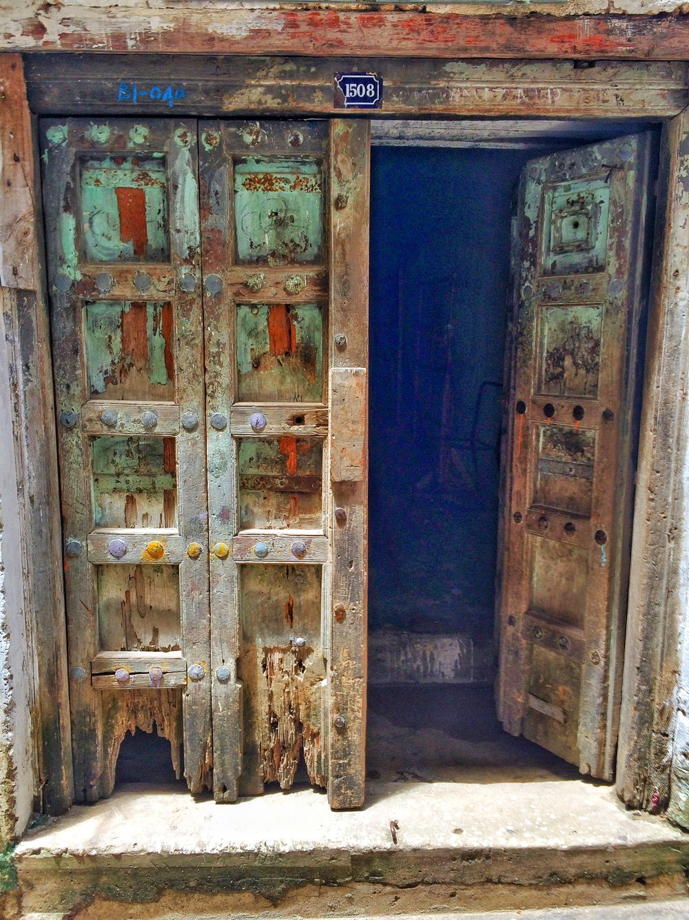 Gorgeous old doors of Zanzibar