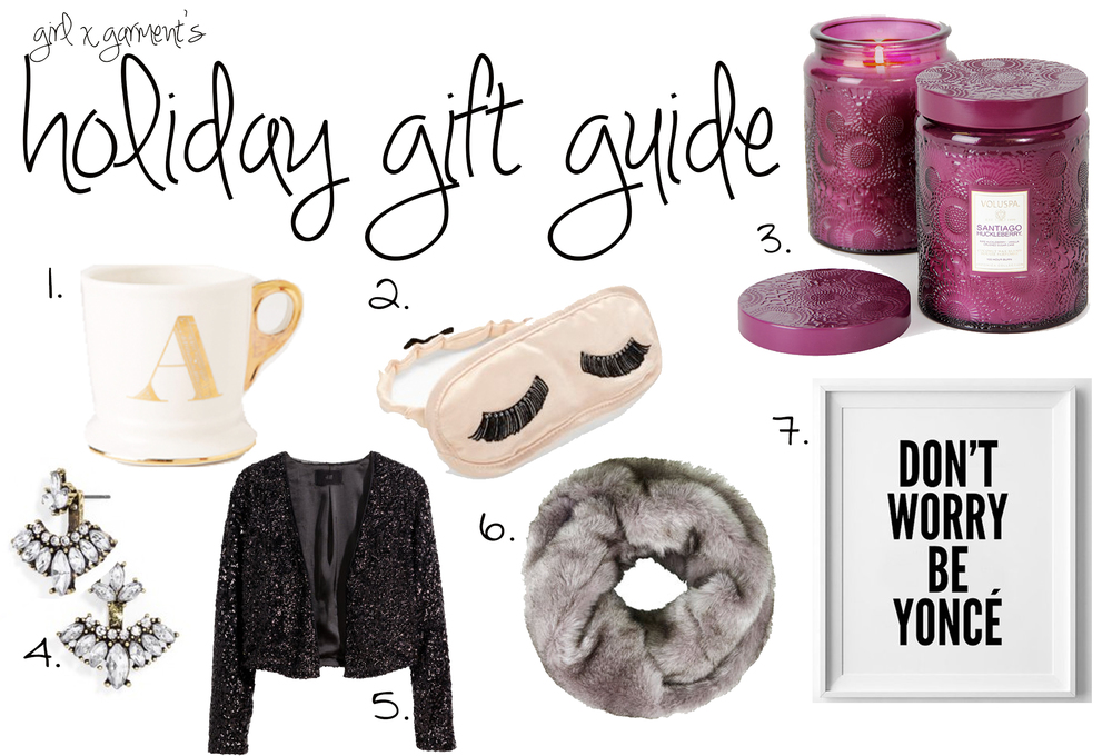 Girl x Garment's Holiday GIft Guide